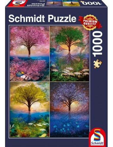 Schmidt Μαγικό Δέντρο στη Λίμνη  1000pcs (58392)