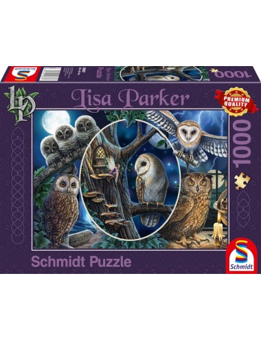 Schmidt Lisa Parker - Μυστηριώδεις Κουκουβάγιες  1000pcs (59667)