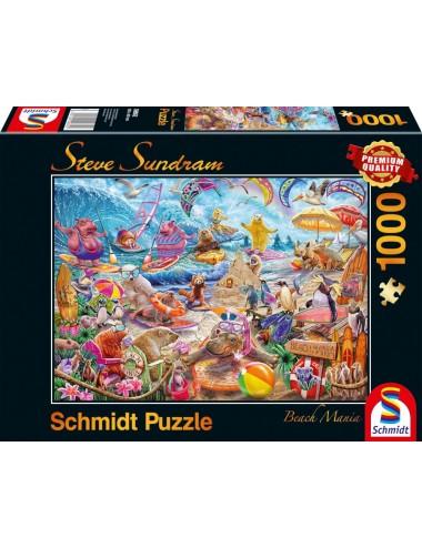 Schmidt  Steve Sundram - Beach Mania  1000pcs  59662