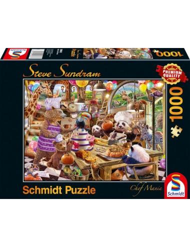 Schmidt  Steve Sundram - Chef Mania 1000pcs  59663