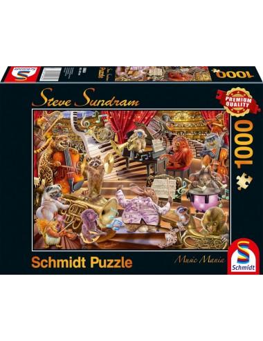 Schmidt  Steve Sundram - Music Mania 1000pcs  59664