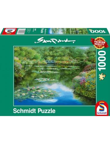 Schmidt Sam Park - Water lily pond 1000pcs 59657