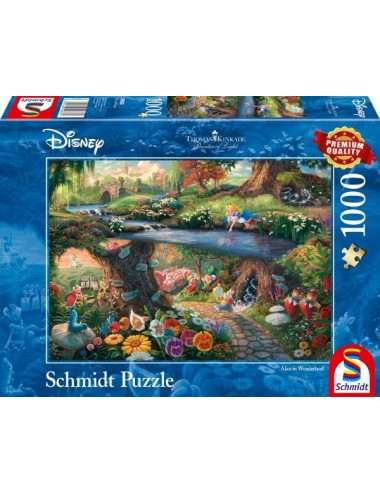 Schmidt Disney, Alice in wonderland  1000pcs 59636