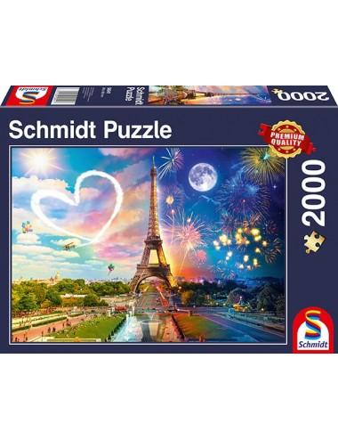 Schmidt Παρίσι, Μέρα και Νύχτα 2000pcs 58941