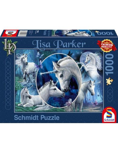 Schmidt Lisa Parker - Χαρισματικοί Μονόκεροι 1000pcs 59668