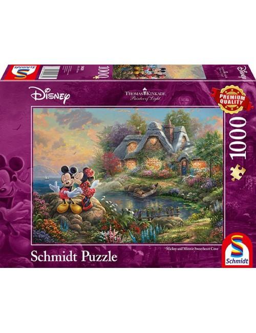 Schmidt  Disney, Sweethearts Mickey&Minnie  1000pcs  59639