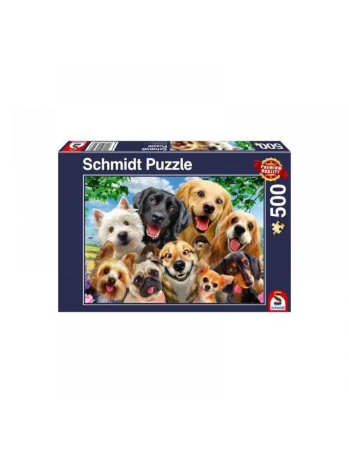 Schmidt  Dog Selfie  500pcs 58390