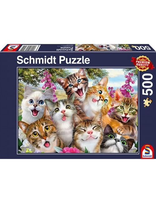 Schmidt  Cat Selfie   500pcs 58391