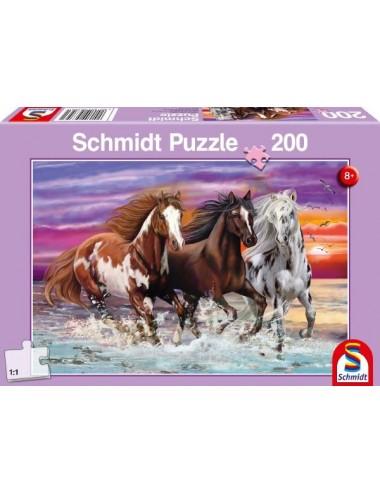 Schmidt 56356  Τρία Άγρια Άλογα   200κομ.