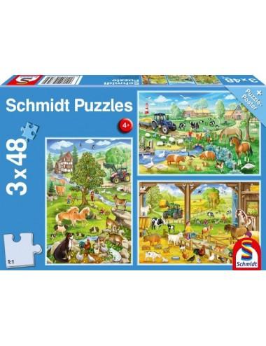 Schmidt 56353  Farm   3x48pcs