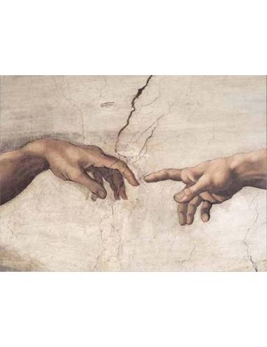 Περισσότερα σχετικά με CREAZIONE DI ADAMO (dettaglio) 1000pcs (09651) Ricordi