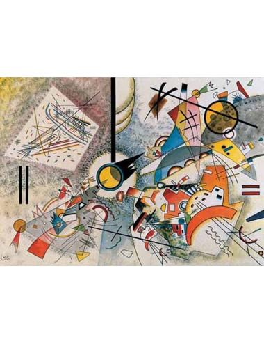 Περισσότερα σχετικά με OHNE TITEL,1923 - KANDINSKY WASSILY 1000pcs (16055) Ricordi