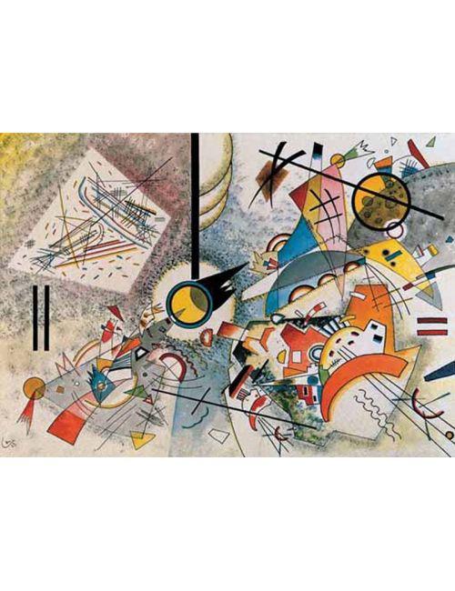 OHNE TITEL,1923 - KANDINSKY WASSILY 1000pcs (16055) Ricordi