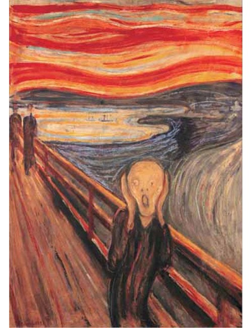 THE SCREAM 1000pcs (14452) Ricordi