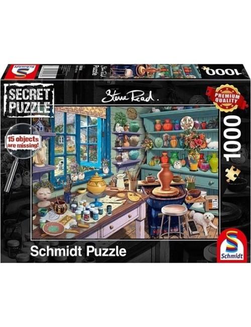 Schmidt Spiele Studio of the artist 1000pcs 59656