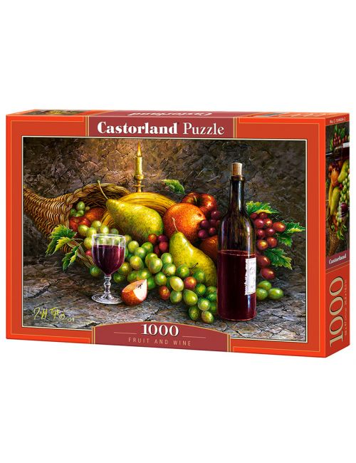 Castorland Fruit and Wine 1000 ΚΟΜΜΑΤΙΑ  C-104604