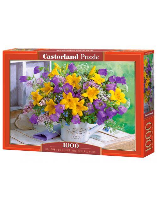 Castorland Liliom és harangvirág  1000 ΚΟΜΜΑΤΙΑ  C-104642