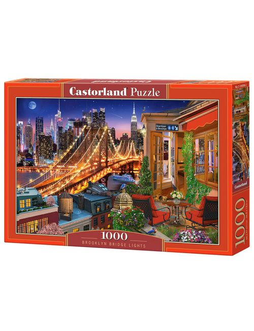 Castorland BROOKLYN BRIDGE LIGHTS  1000 ΚΟΜΜΑΤΙΑ C-104598