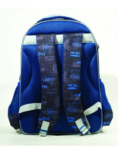 Gim Τσάντα Δημοτικού ΟΒΑΛ CARS THUNDER  341-45031