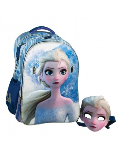 GIM Τσάντα Δημοτικού  Oβάλ  Frozen 2 Elsa   341-64031