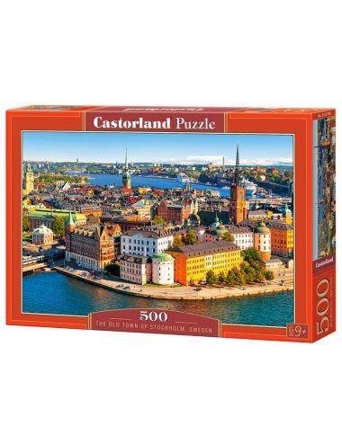 Castorland The Old Town Of Stockholm Sweden 500 ΚΟΜΜΑΤΙΑ  B-52790