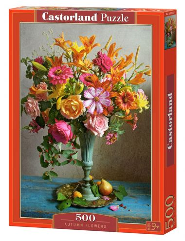 Castorland Autumn Flowers   500 ΚΟΜΜΑΤΙΑ B-53537