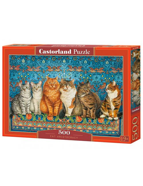 Castorland Cat Aristocracy 500 ΚΟΜΜΑΤΙΑ B-53469