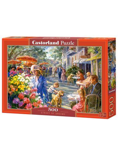Περισσότερα σχετικά με Castorland STREET OF DREAMS 500 ΚΟΜΜΑΤΙΑ B-53438