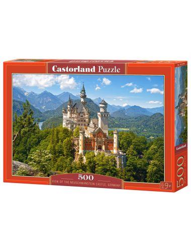 Castorland Neuschwanstein Castle, Germany 500 ΚΟΜΜΑΤΙΑ B-53544