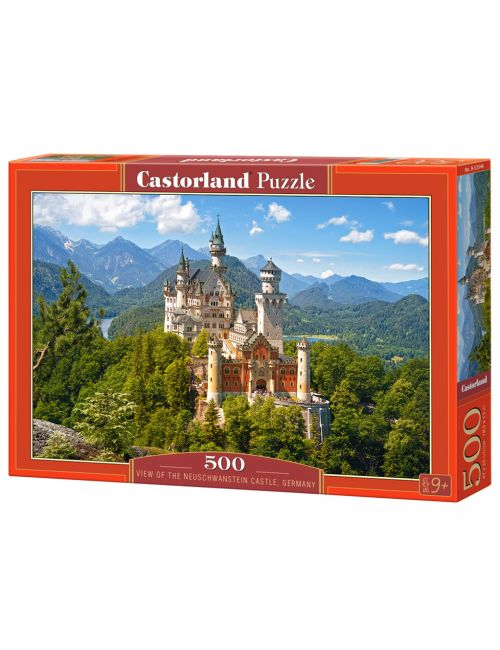 Castorland Neuschwanstein Castle, Germany 500 ΚΟΜΜΑΤΙΑ B-53544