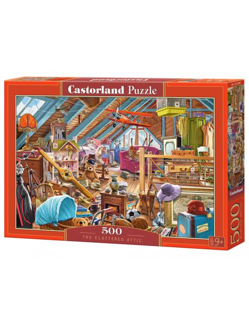 Castorland The Cluttered Attic 500 ΚΟΜΜΑΤΙΑ B-53407