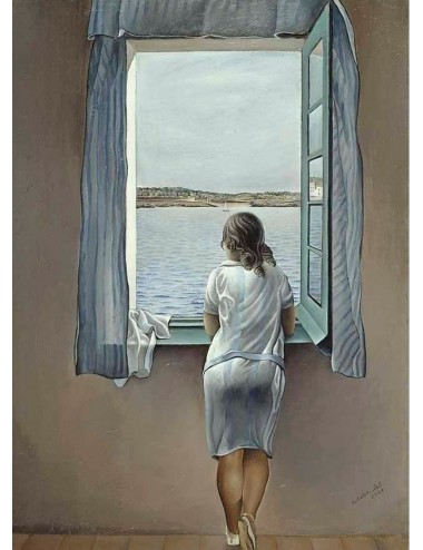 Girl at the window 1000pcs (25086) Ricordi