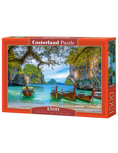 Castorland Beautiful Bay in Thailand 1500 ΚΟΜΜΑΤΙΑ C-151936