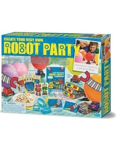 Περισσότερα σχετικά με 4M Toys Κατασκευή Robot Party 4Μ0212