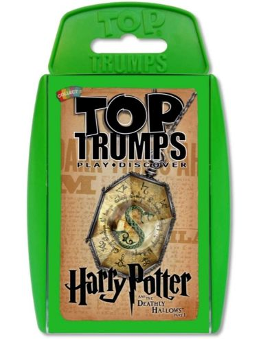 Winning Moves Επιτραπέζιο Top Trumps Harry Potter and The Deathly Hallows Part I - Αγγλικό 024204