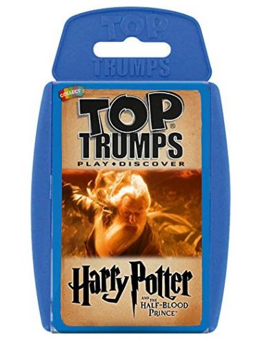 Winning Moves Επιτραπέζιο Top Trumps Harry Potter and The Half-Blood Prince Αγγλικό 023016