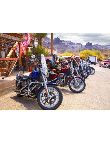 Bluebird Rt 66 Fun Run Oatman Motorcycles 4-16 83771000 κομμάτια 70067