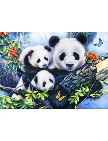 Bluebird  Panda Family1000...