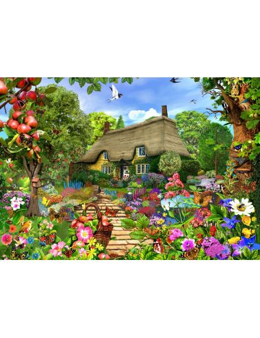 Bluebird English Cottage Garden1500 κομμάτια 70141
