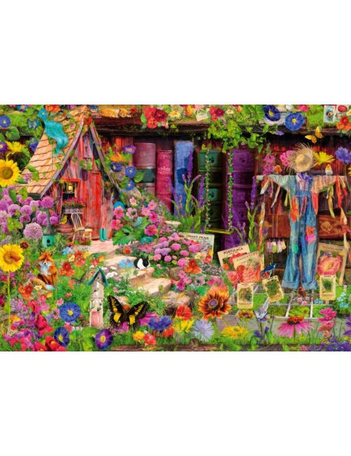 Bluebird The Scarecrow's Garden1000 κομμάτια 70238