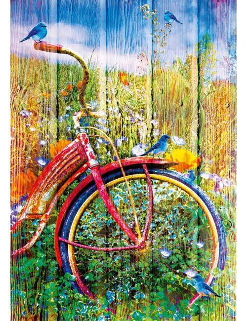 Bluebird Bluebirds on a Bicycle1000 κομμάτια 70300