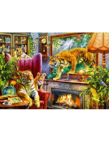 Περισσότερα σχετικά με Bluebird Tigers Coming to Life1000 κομμάτια 70310