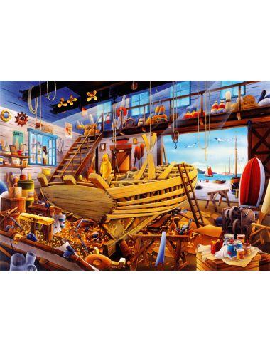 Περισσότερα σχετικά με Bluebird Boat Yard1000 κομμάτια 70316