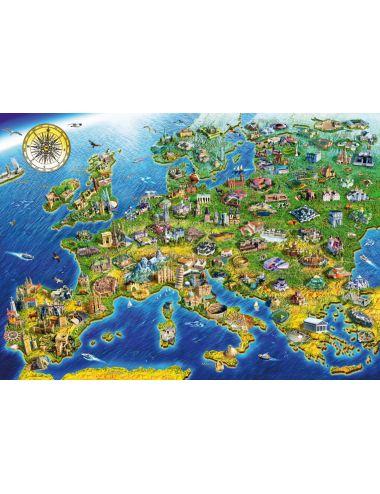 Περισσότερα σχετικά με Bluebird European Landmarks1000 κομμάτια 70322