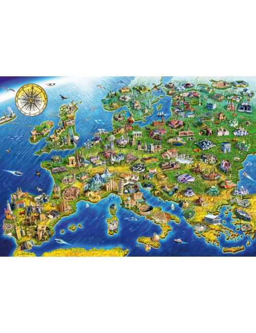 Bluebird European Landmarks1000 κομμάτια 70322