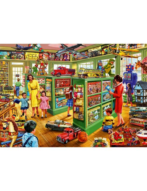 Bluebird Toy Shop Interiors1000 κομμάτια 70324
