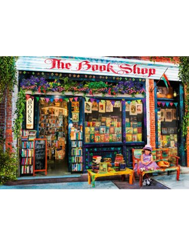 Περισσότερα σχετικά με Bluebird The Bookshop Kids1000 κομμάτια 70327