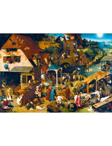 Bluebird  Pieter Bruegel the Elder - Netherlandish Proverbs, 1559 1000 κομμάτια 60028