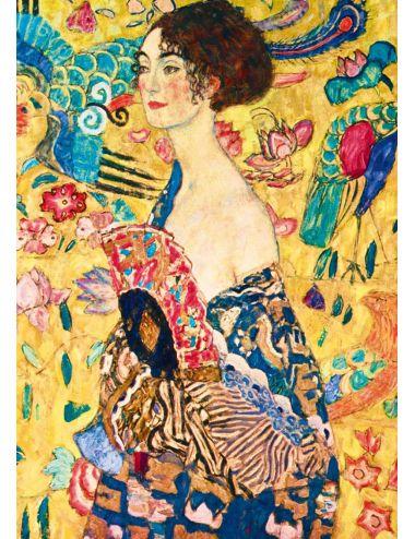 Bluebird  Gustave Klimt - Lady with Fan, 1918  1000 κομμάτια 60095