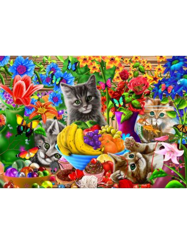Bluebird  Kitten Fun  1000 κομμάτια 70183